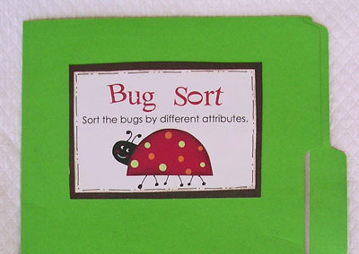 bug sort file folder game kindergarten kindergarten. Black Bedroom Furniture Sets. Home Design Ideas