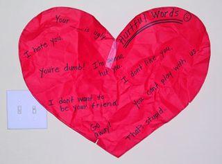 Crumpled-heart