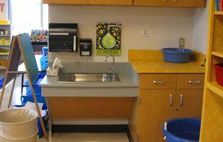 Kindergarten-classroom-sink