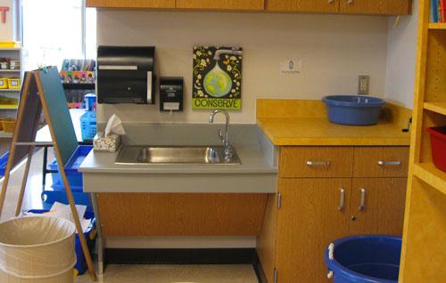 Kindergarten Classroom Sink