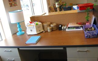 Kindergarten-teacher-desk