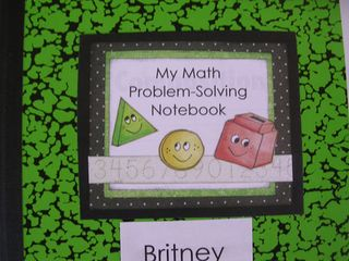 Math-Journal-Label