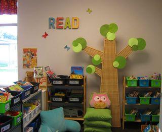 Kindergarten-library