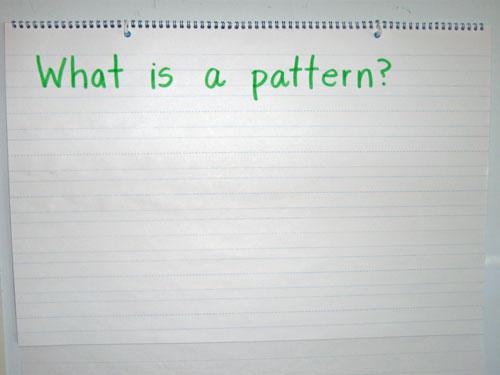 Math Warm-Ups: Patterns - Kindergarten Kindergarten