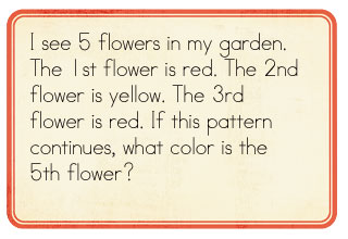 find a pattern problem solving