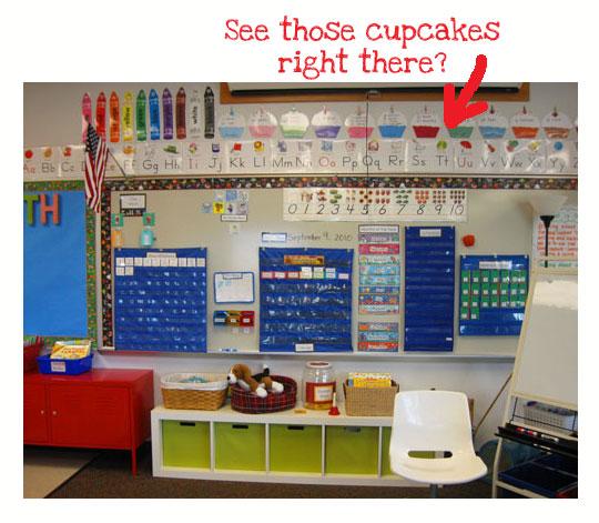 Birthday Calendar Kindergarten : Calendar birthday cupcakes kindergarten