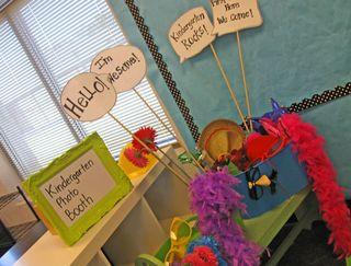 Kindergarten-Photo-Booth
