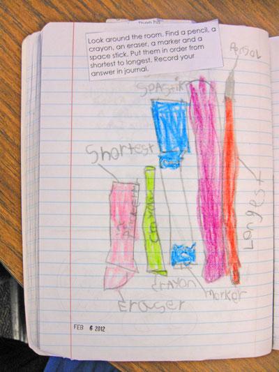 Math Problem Solving: Measurement--Length - Kindergarten Kindergarten