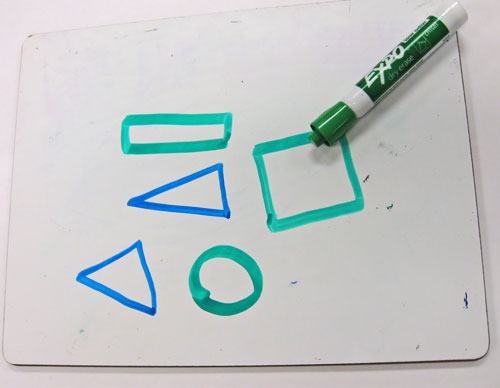 Math Warm-Ups: 2 Dimensional Geometric Shapes - Kindergarten ...