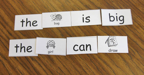 image about Sentence Building Games Printable named Sight Phrase Coach Internet pages - Kindergarten Kindergarten