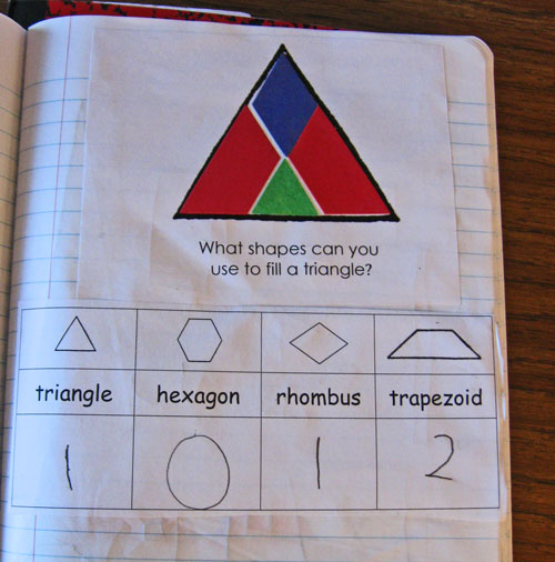 Kindergarten problem solving activities