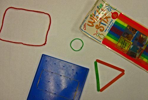 e3ae65eedb Math Warm-Ups  2 Dimensional Geometric Shapes - Kindergarten ...