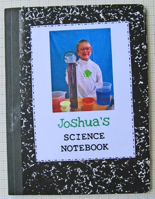 Kindergarten-Science-Notebo