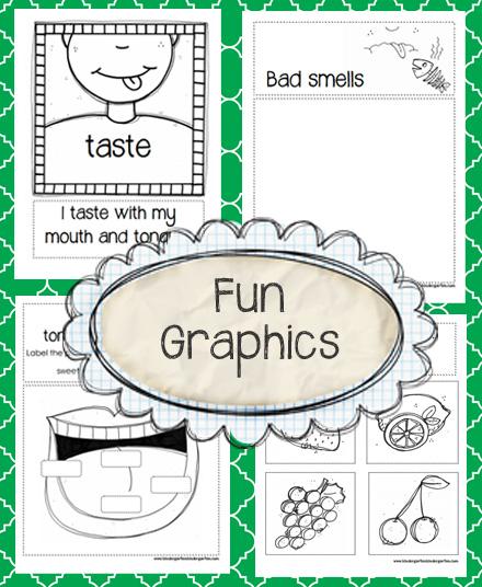 Kindergarten Kindergarten Five Senses
