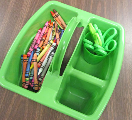 Supply-bucket