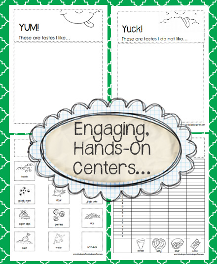 kindergarten all about me units