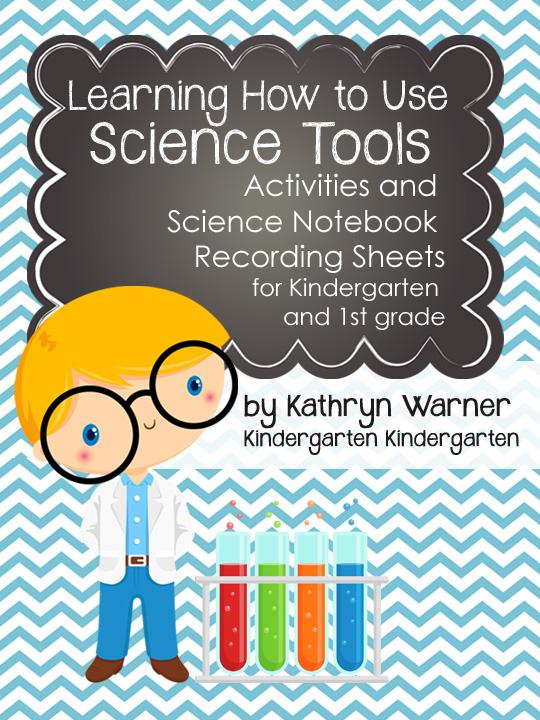 science tools learning kindergarten notebook recording sheets teaching activities tool unit kinder sort teachers grade clipart 1st hands mini resource