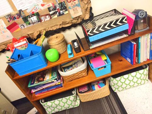 Small Desk Organization Student