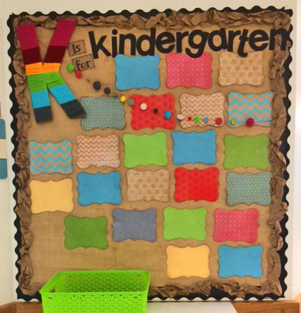 Kindergarten-bulletin-board