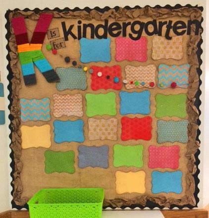 Kindergarten-bulletin-board
