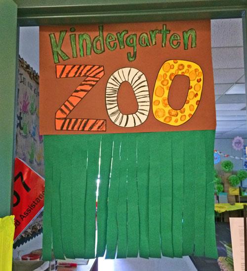 Kindergarten-Zoo