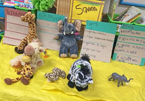 Kindergarten-Savanna